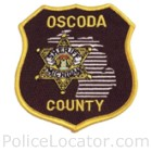 Oscoda County Sheriff's Department Patch