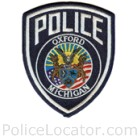 Oxford Village Police Department Patch