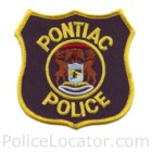 Pontiac Police Department Patch