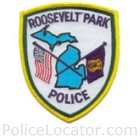 Roosevelt Park Police Department Patch