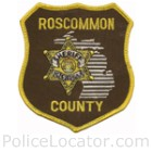 Roscommon County Sheriff's Department Patch