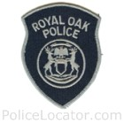 Royal Oak Police Department Patch