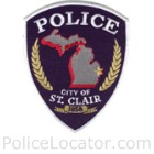 St. Clair Police Department Patch