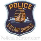 St. Clair Shores Police Department Patch