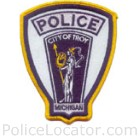 Troy Police Department Patch