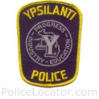 Ypsilanti Police Department Patch