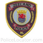 Zeeland Police Department Patch