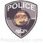 Avon Police Department Patch