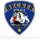 Becker Police Department Patch