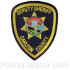 Carlton County Sheriff's Office Patch