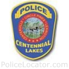 Centennial Lakes Police Department Patch