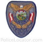 Dilworth Police Department Patch