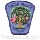 Eagan Police Department Patch