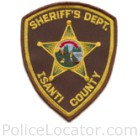 Isanti County Sheriff's Office Patch