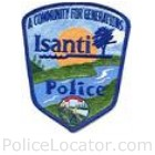Isanti Police Department Patch