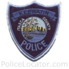 Keewatin Police Department Patch