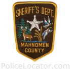 Mahnomen County Sheriff's Department Patch