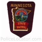 Minnesota Lake Police Department Patch