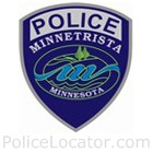 Minnetrista Police Department Patch