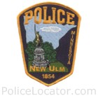 New Ulm Police Department Patch