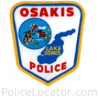 Osakis Police Department Patch