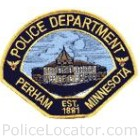 Perham Police Department Patch