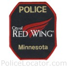 Red Wing Police Department Patch