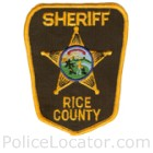 Rice County Sheriff's Office Patch