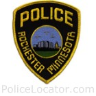Rochester Police Department Patch