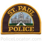 Saint Paul Police Department Patch