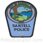Sartell Police Department Patch