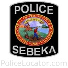 Sebeka Police Department Patch