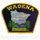 Wadena Police Department Patch