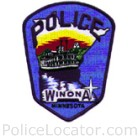 Winona Police Department Patch
