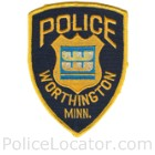 Worthington Police Department Patch