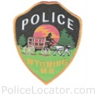 Wyoming Police Department Patch