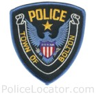Bolton Police Department Patch