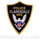 Clarksdale Police Department Patch