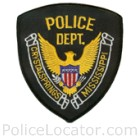 Crystal Springs Police Department Patch