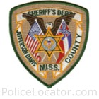 Jefferson Davis County Sheriff's Office Patch