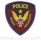 Magee Police Department Patch