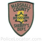 Marshall County Sheriff's Office Patch