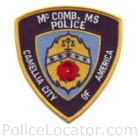 McComb Police Department Patch