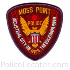 Moss Point Police Department Patch