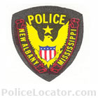 New Albany Police Department Patch