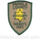 Panola County Sheriff's Office Patch