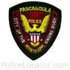 Pascagoula Police Department Patch
