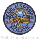 Pearl Police Department Patch