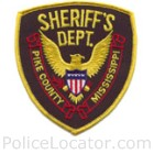 Pike County Sheriff's Office Patch