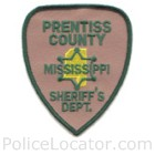 Prentiss County Sheriff's Office Patch